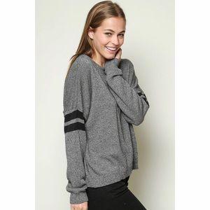 Brandy Melville Grey Veena Sweater